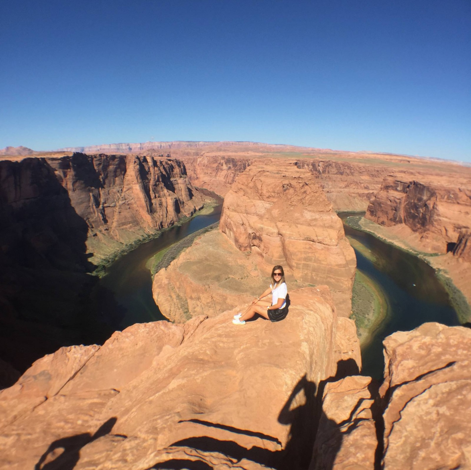 HORSESHOE BEND, WOMAN VS WILD !
