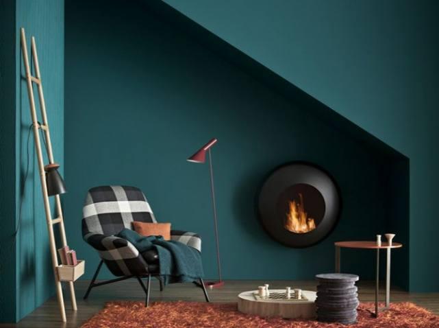 Day mood 3 futur appartement m 6 juste maudinette - Couleur bleu paon ...