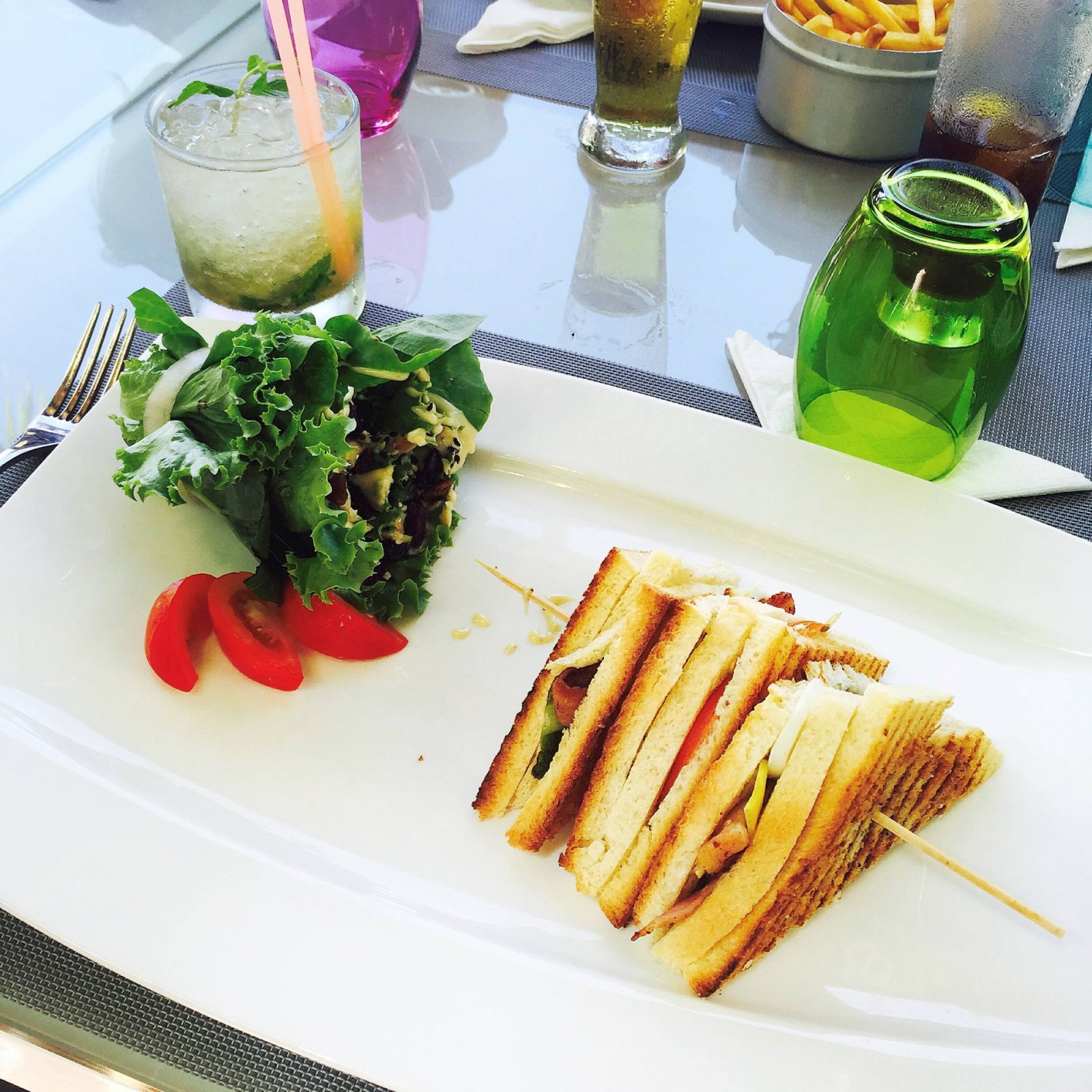 LE #36 : UN LUNCH CHIC A L'ILE MAURICE