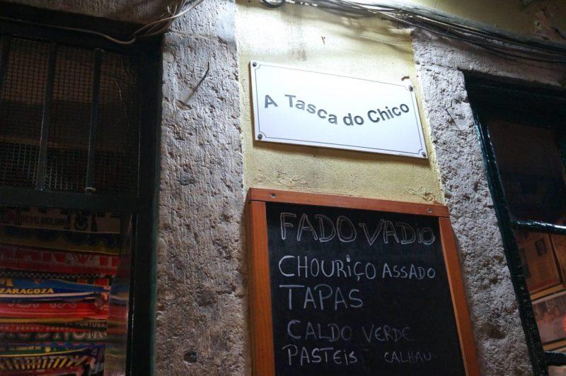 Fado Lisbonne