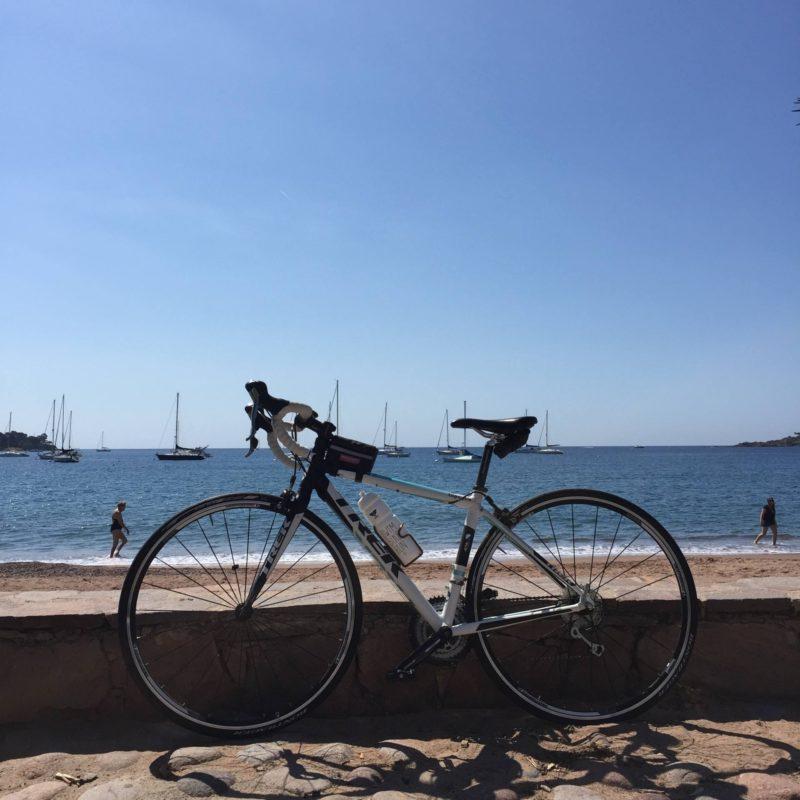 vélo dans l'esterel