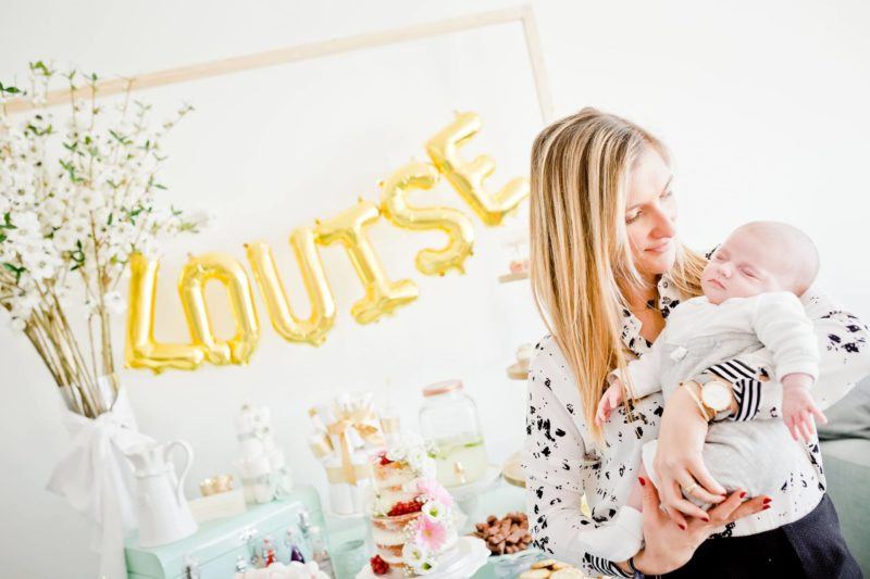 MA BABY SHOWER … OU LA WELCOME BABY PARTY DE LOUISE !