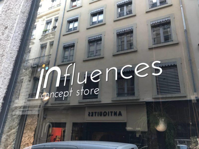 influences concept store lyon