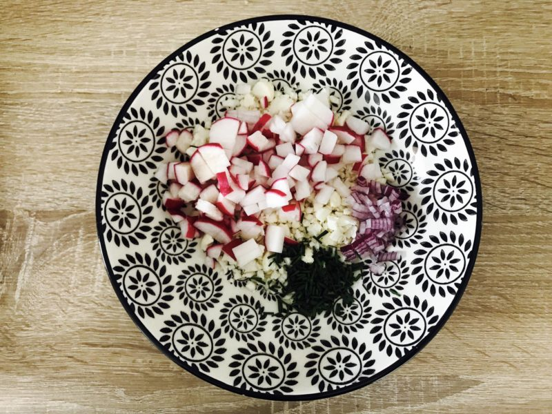taboulé de chou-fleur