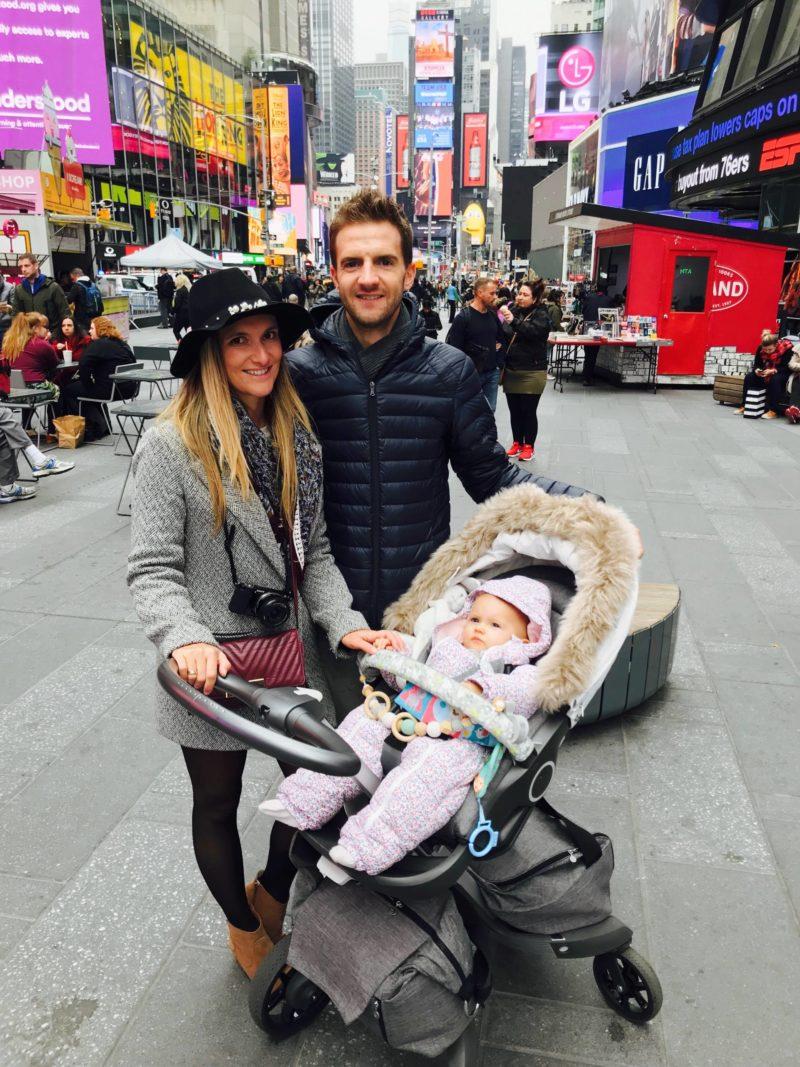 voyage New York bébé