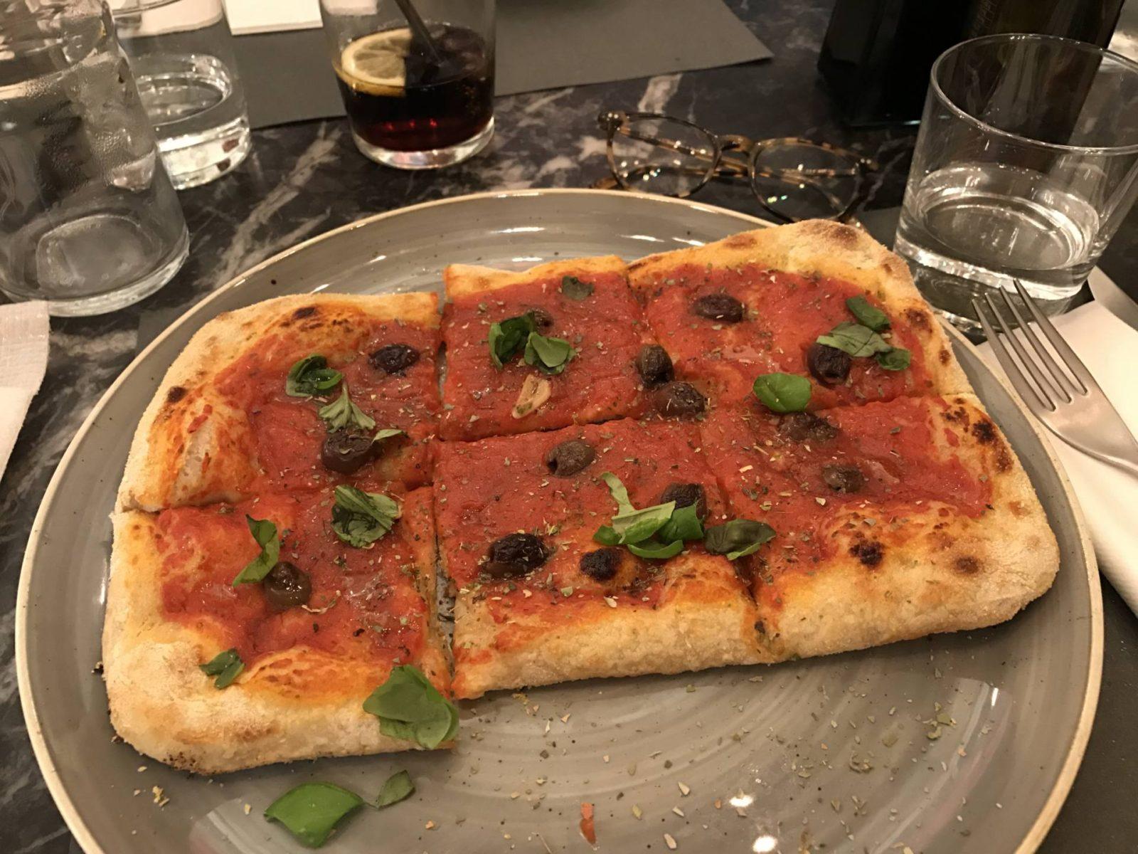 MA PIZZA PREFEREE CHEZ SENTIMI A NICE
