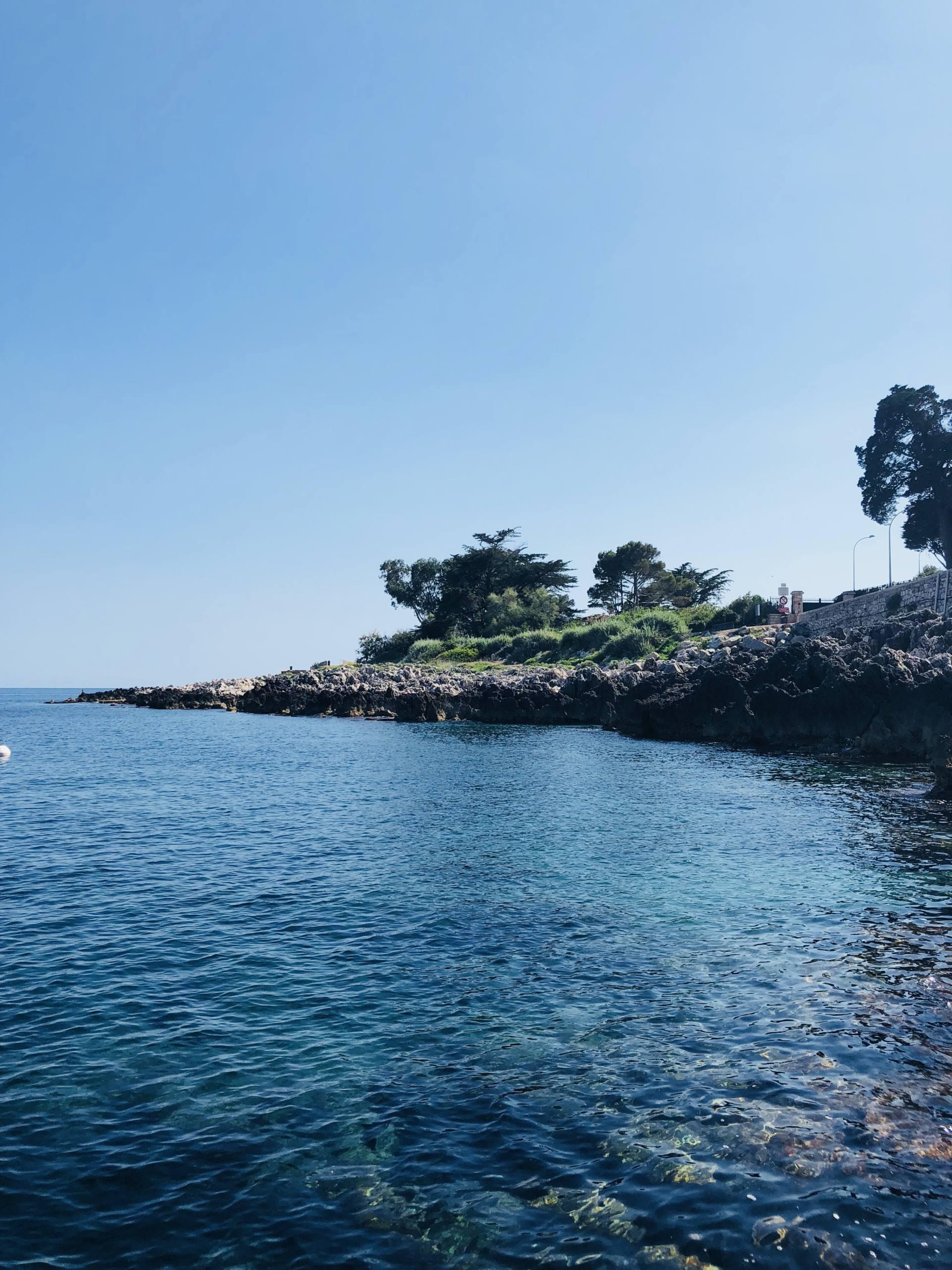 la cigale vista beach plage côte d'azur