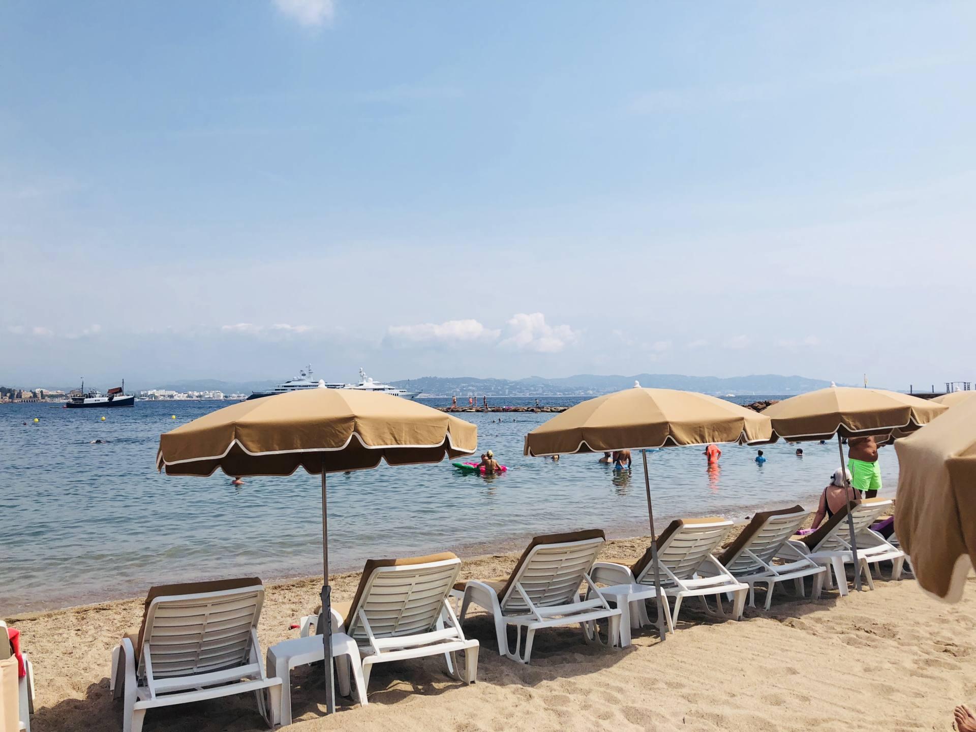 le magellan plage privée Théoule sur mer