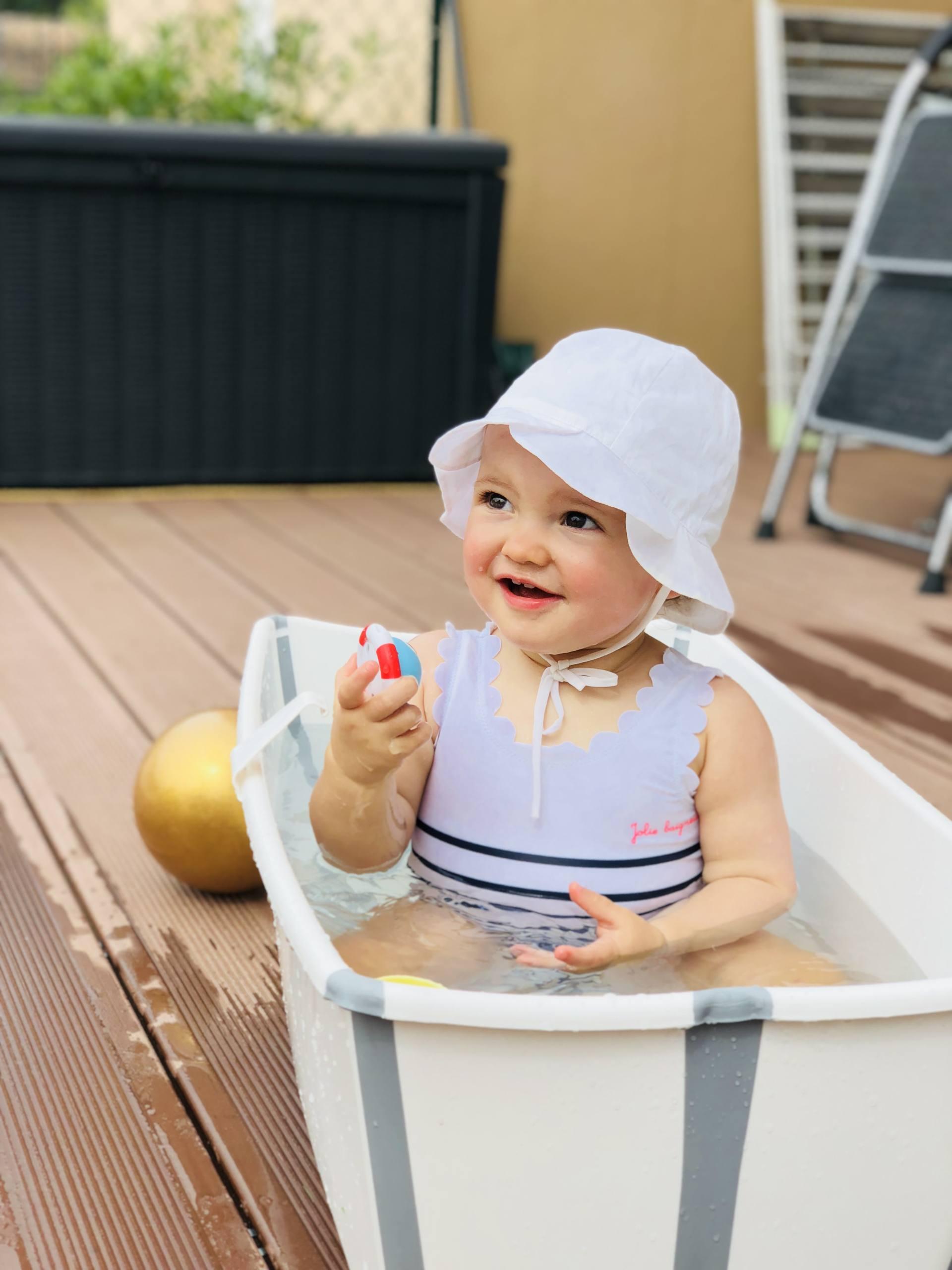 maillot de bain bébé tape à l'oeil