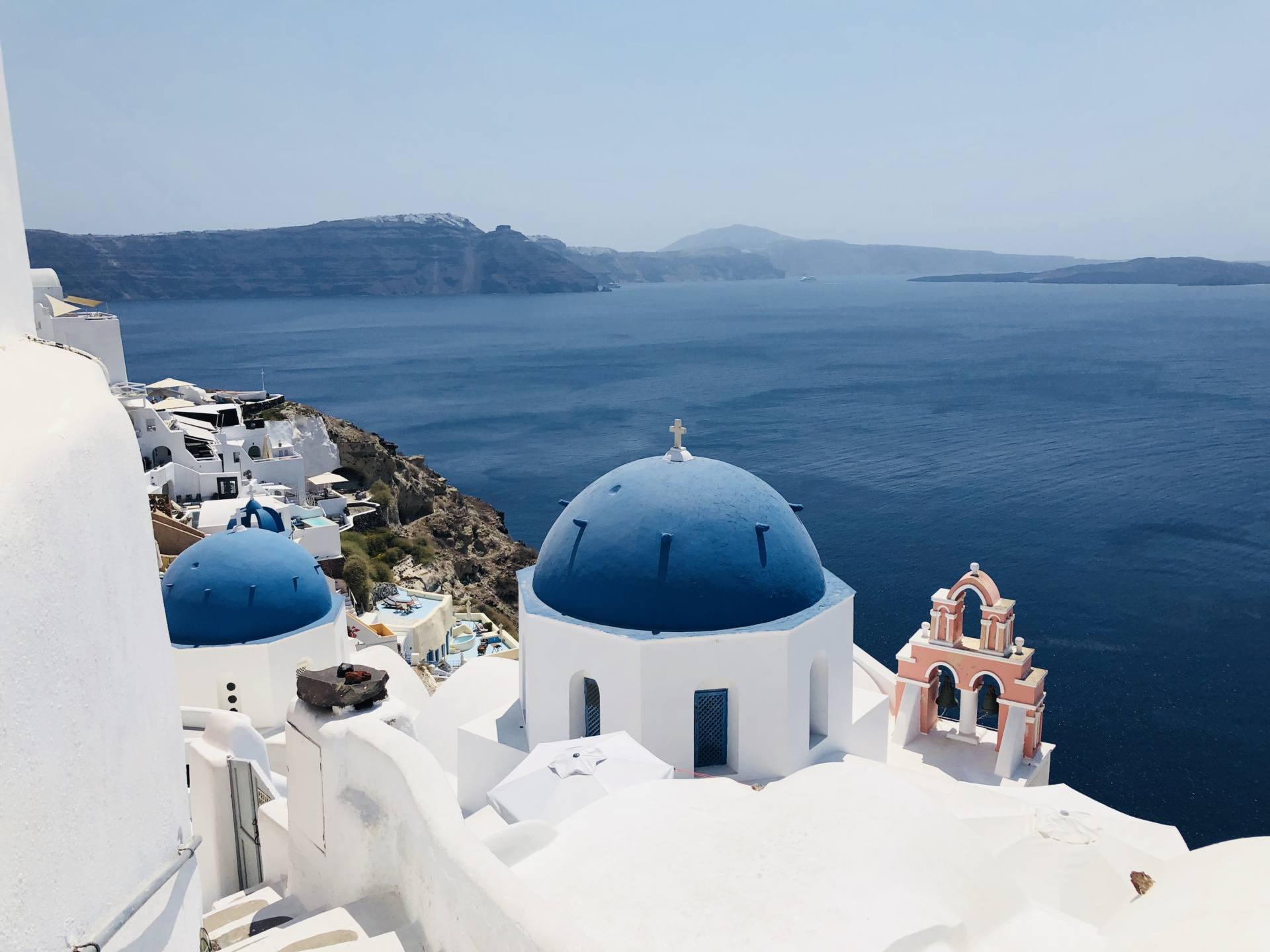 Grèce cyclades santorin