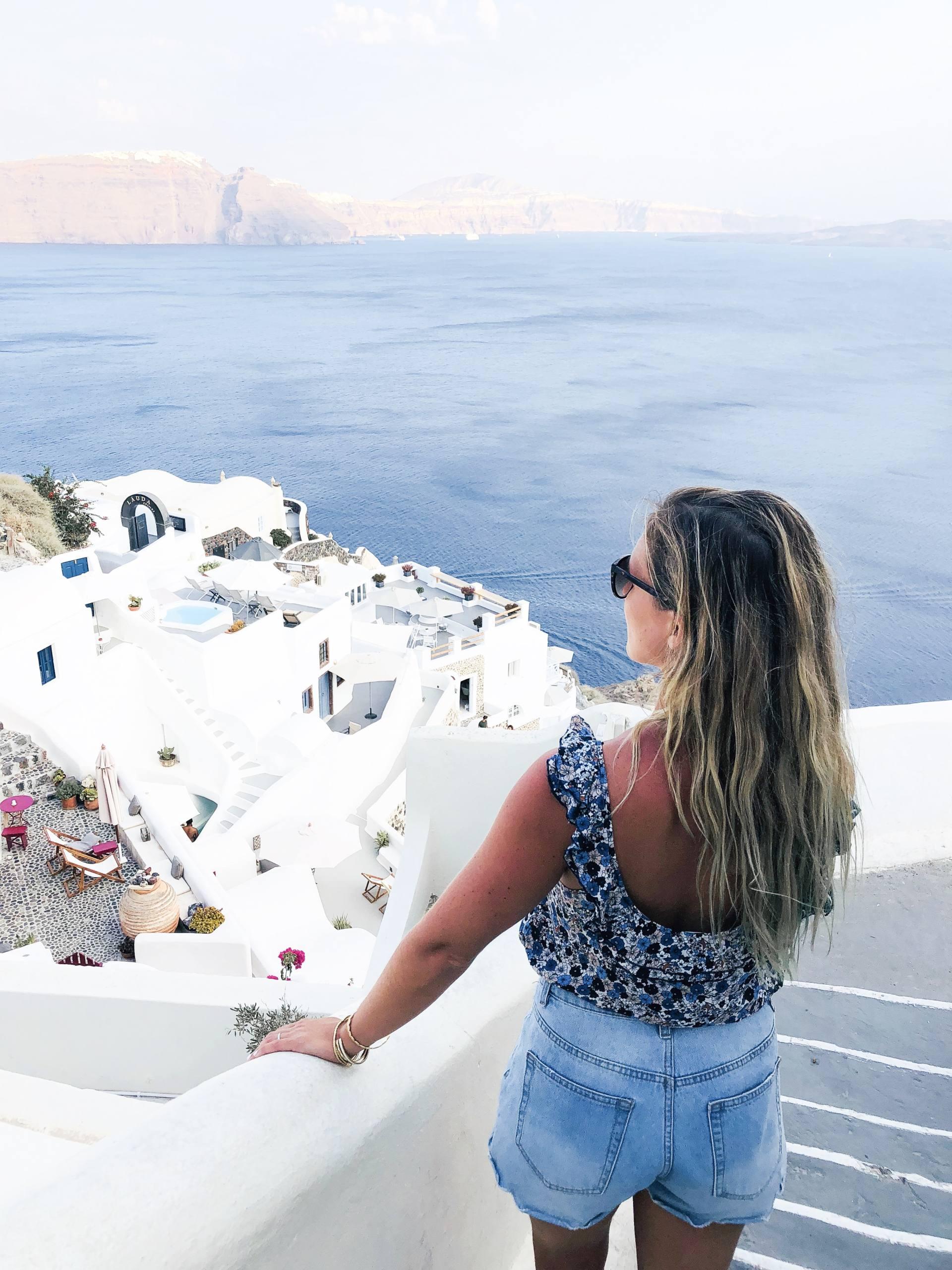 oia Santorin Grèce