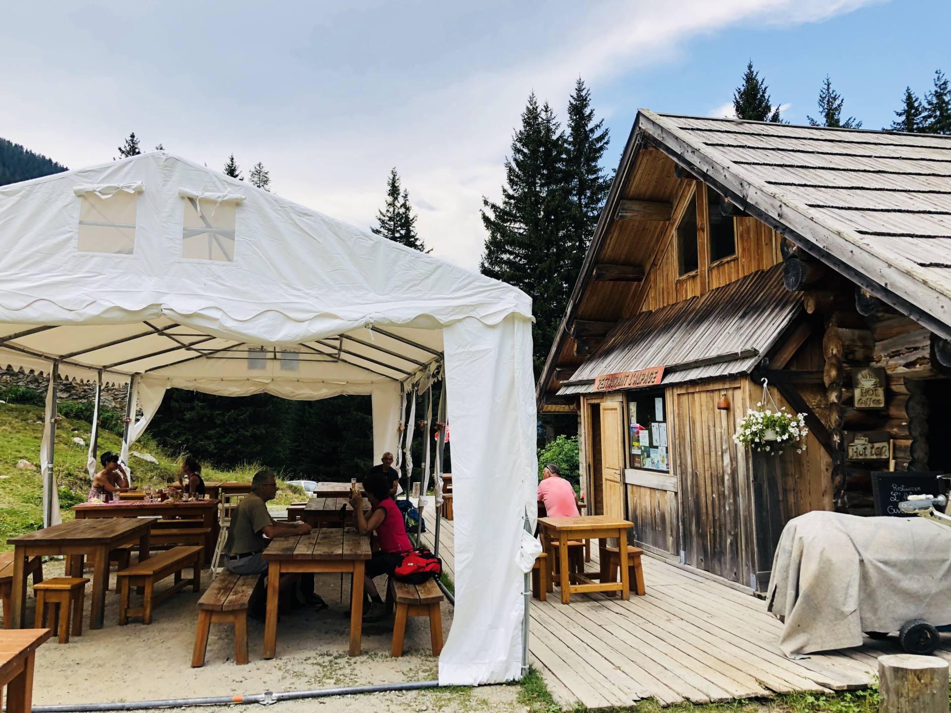 restaurant l'alpage boréon