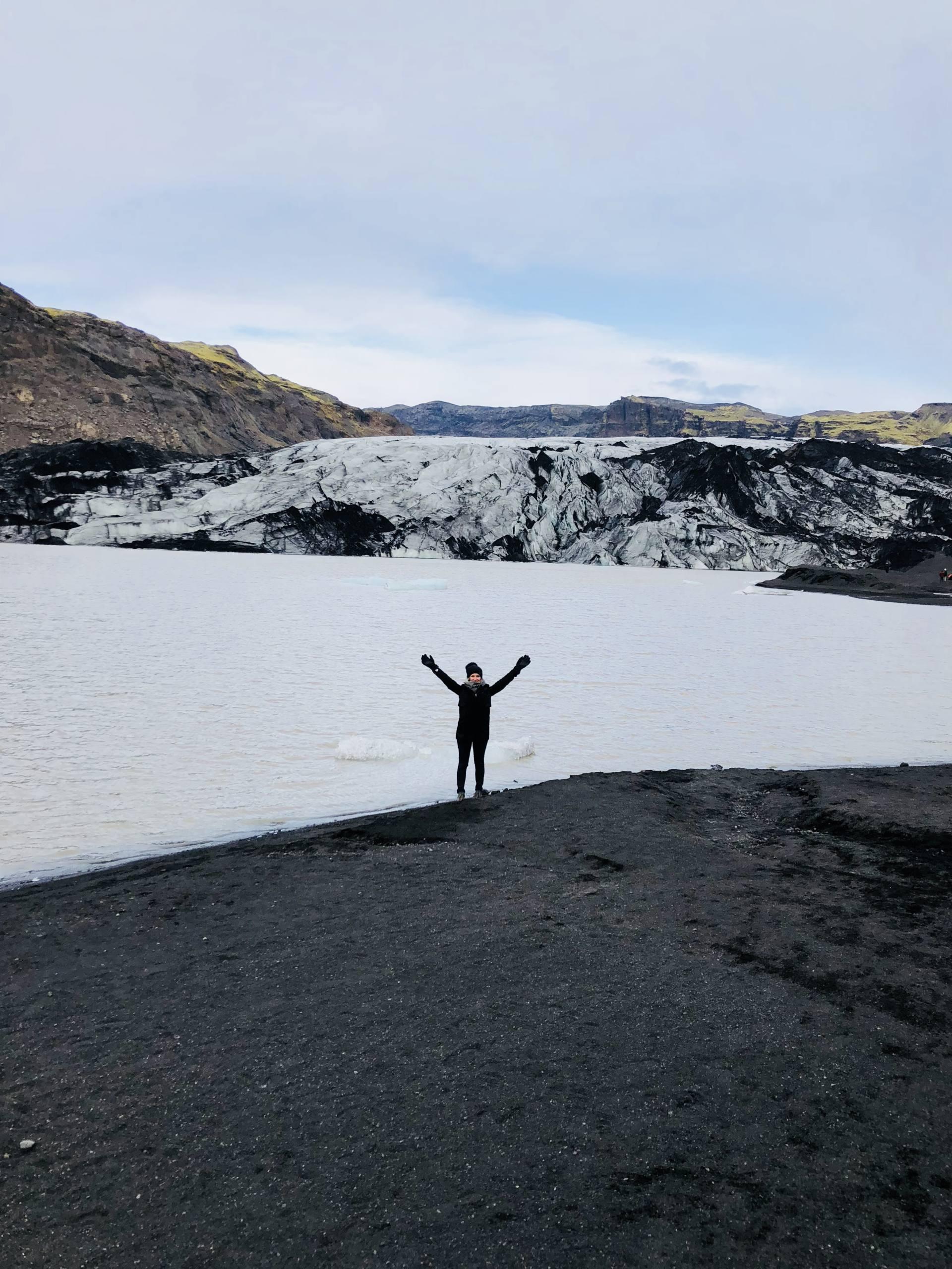 Solheimajokull roadtrip sud islande
