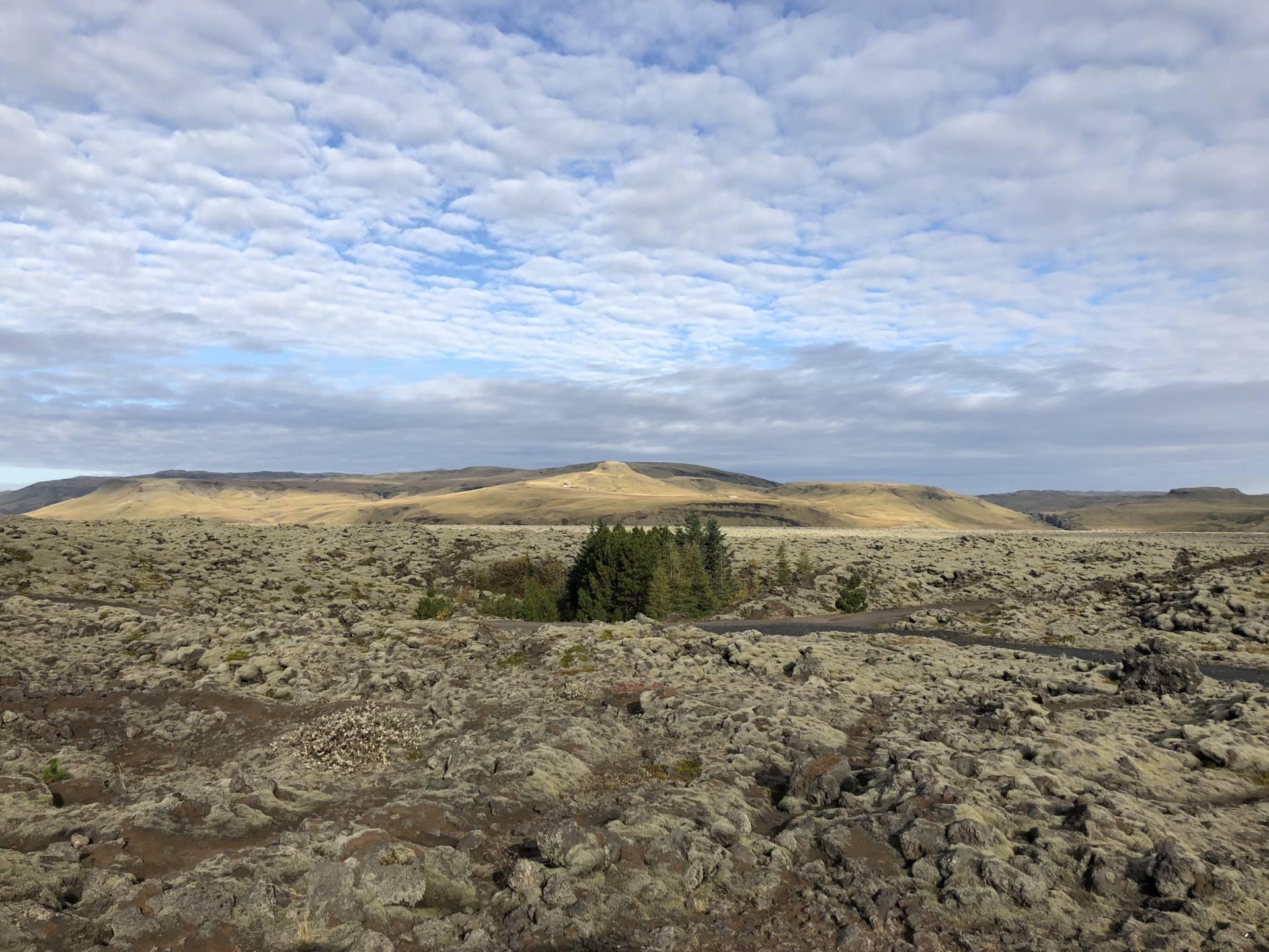 eldhraun roadtrip islande