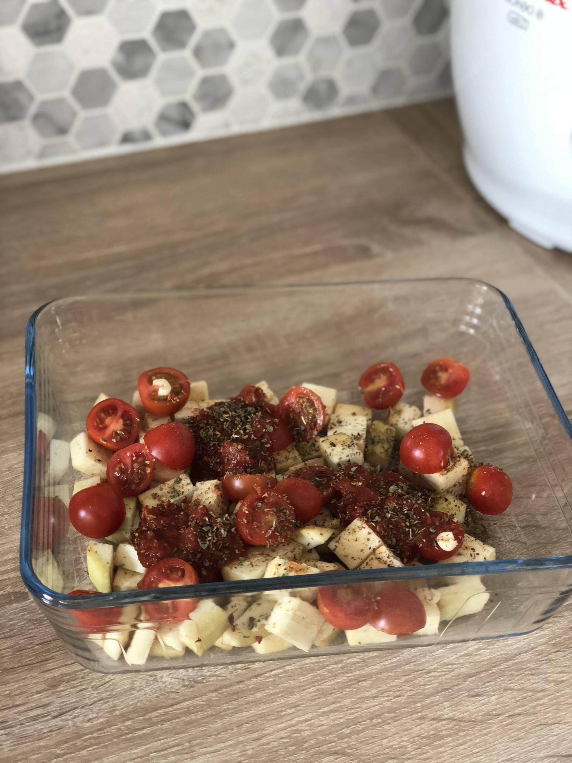 recette pâtes aubergines