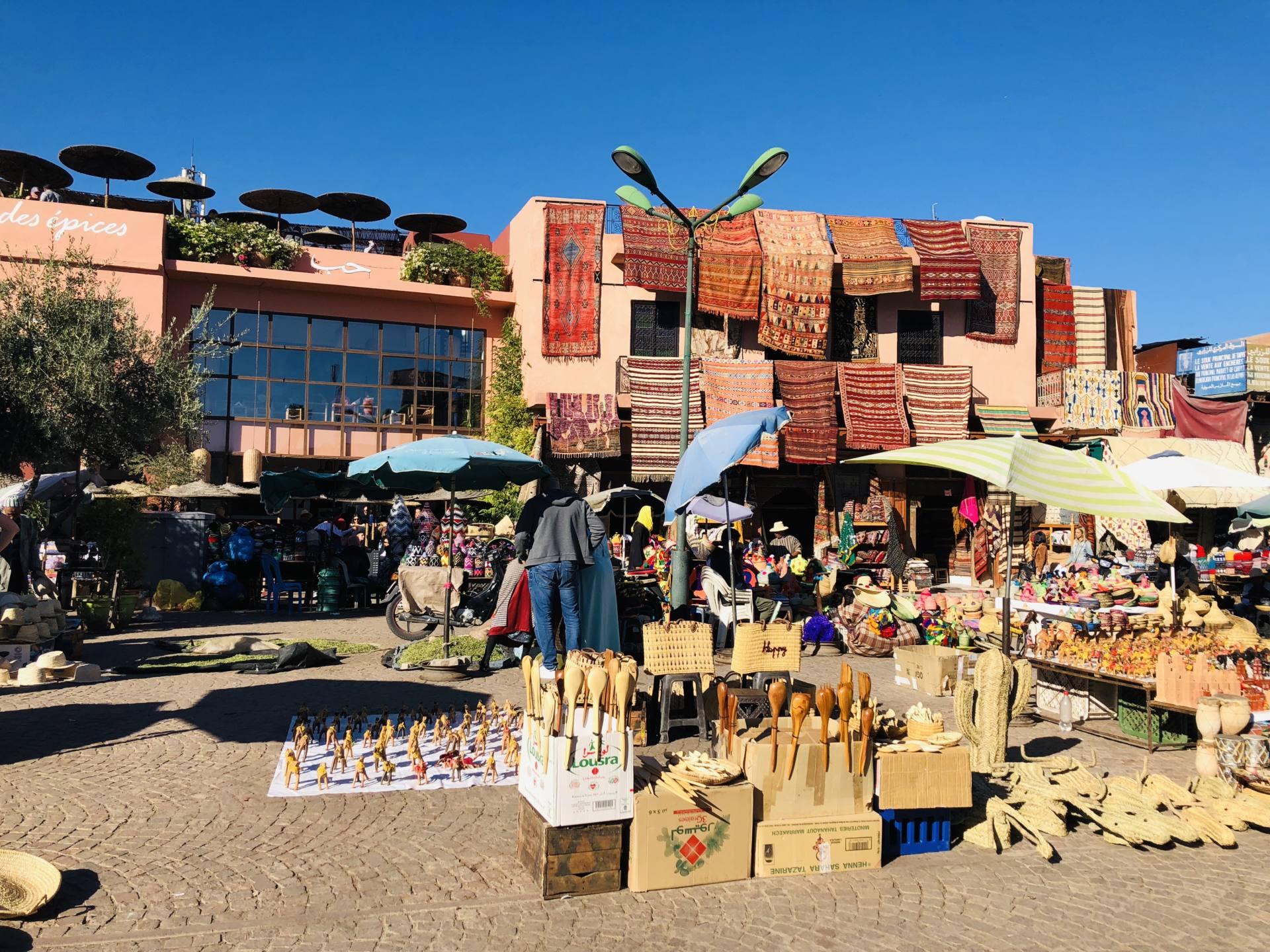 souk marrakech place des épices