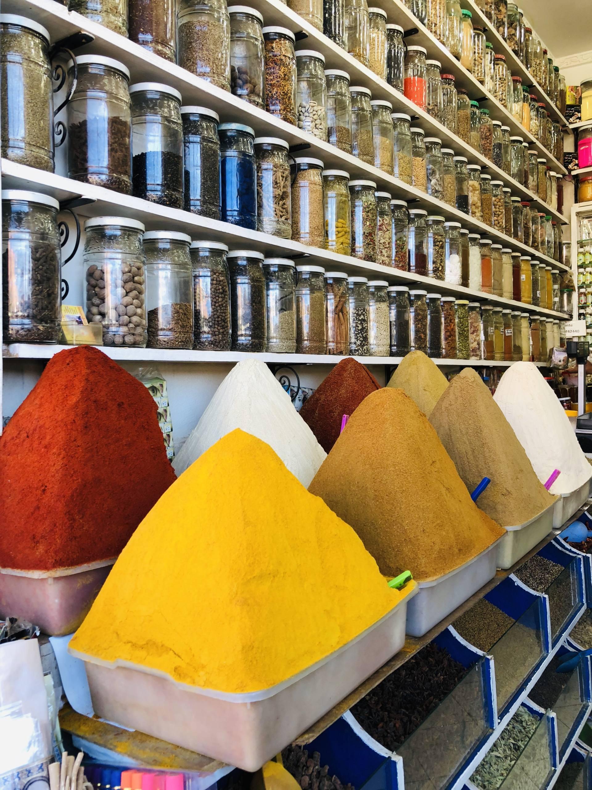 souk épices marrakech