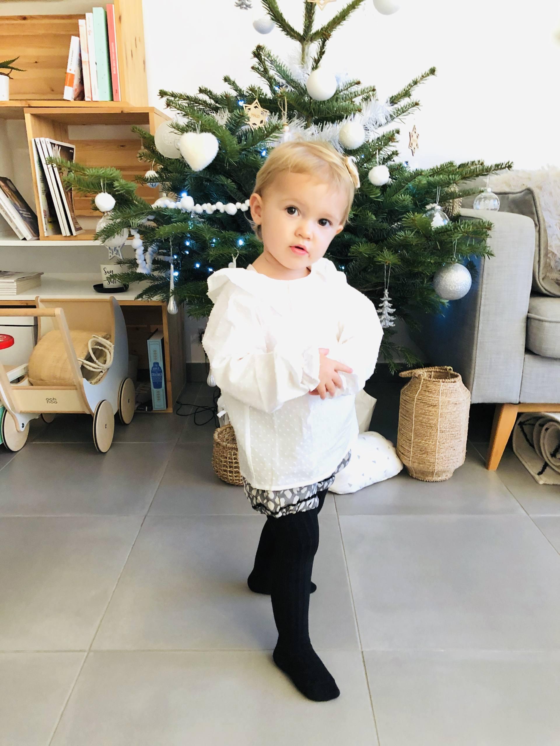 melijoe look bébé hiver noel
