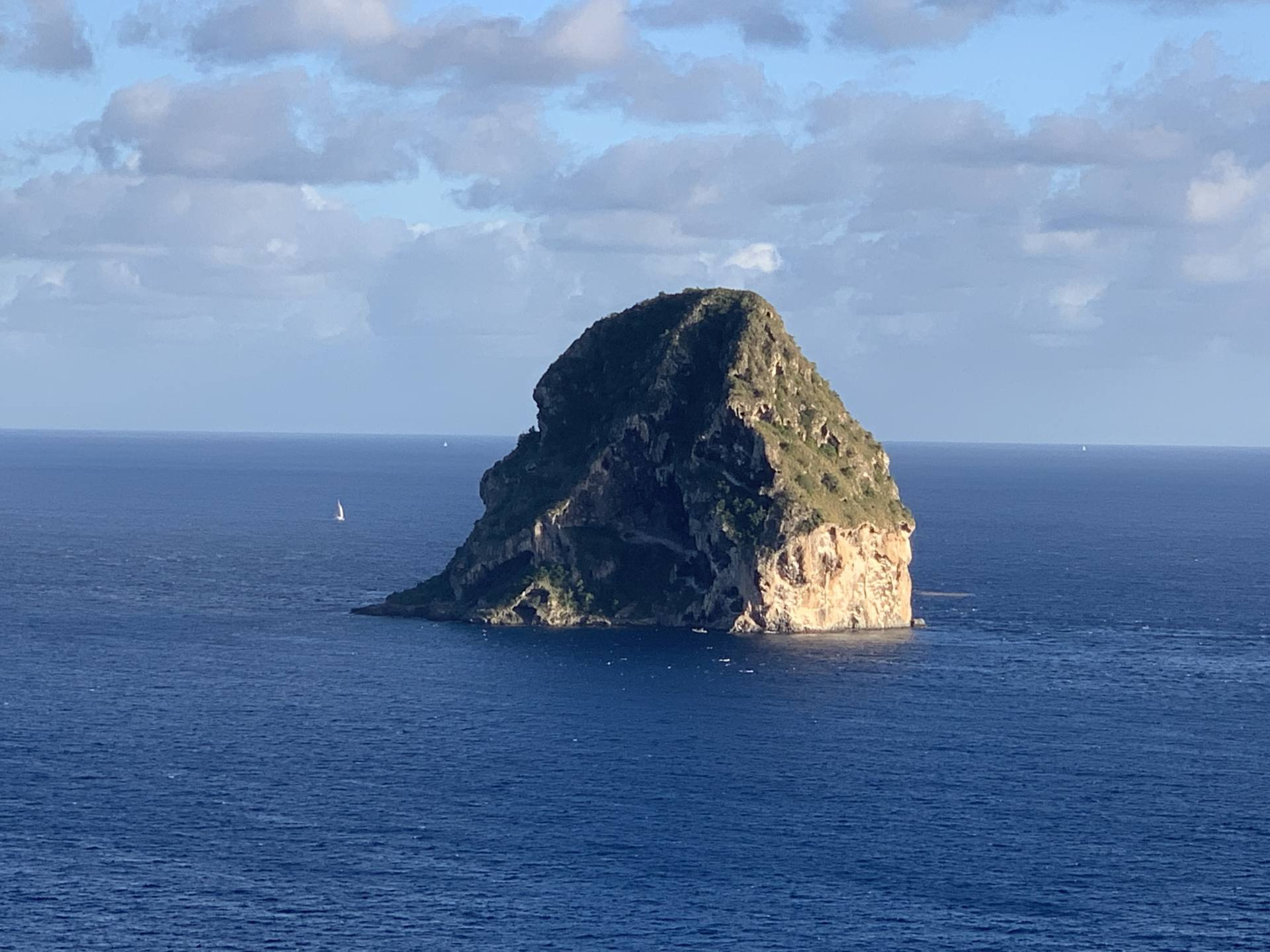 rocher du diamant Martinique