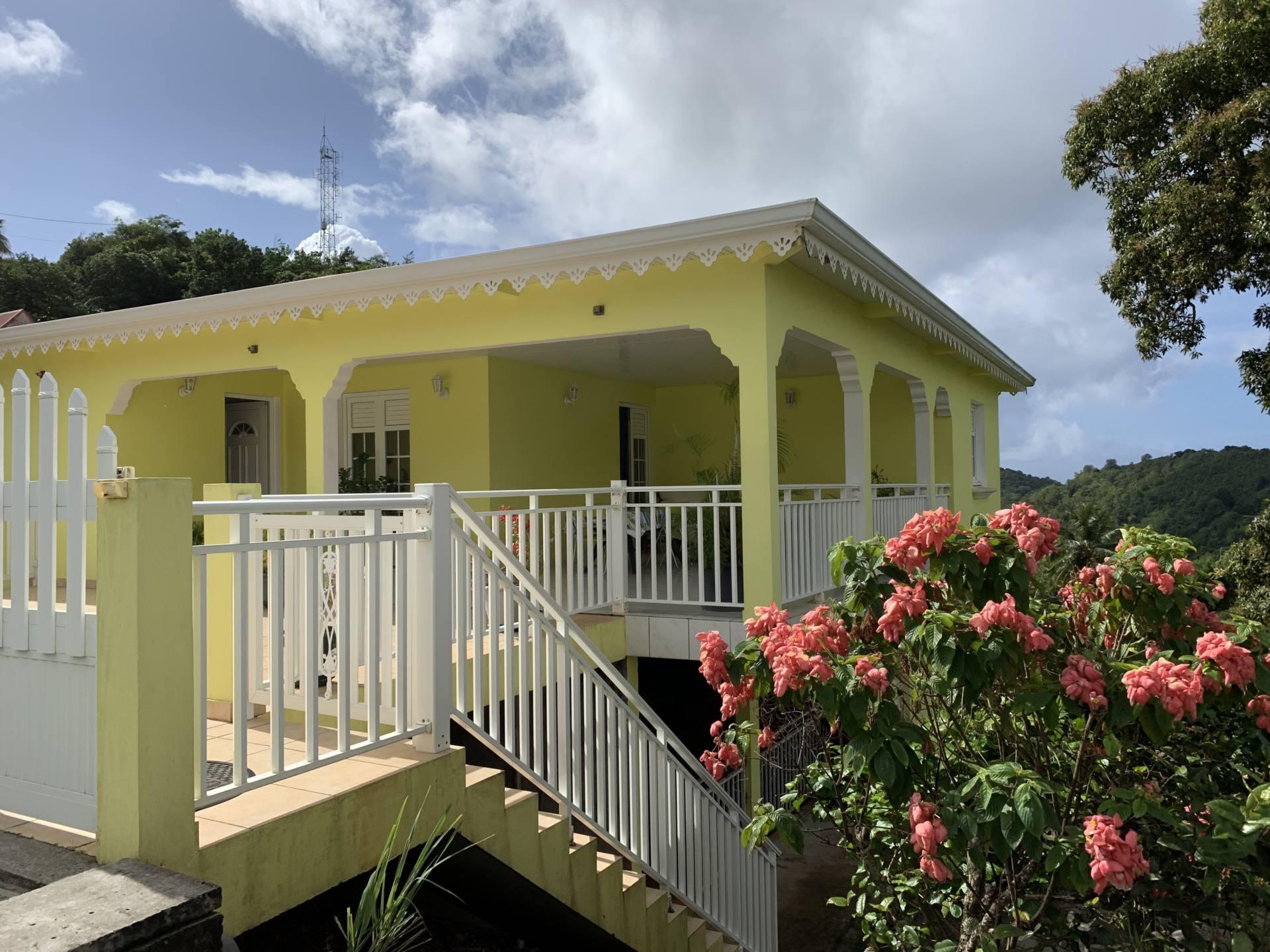 route des crêtes Martinique