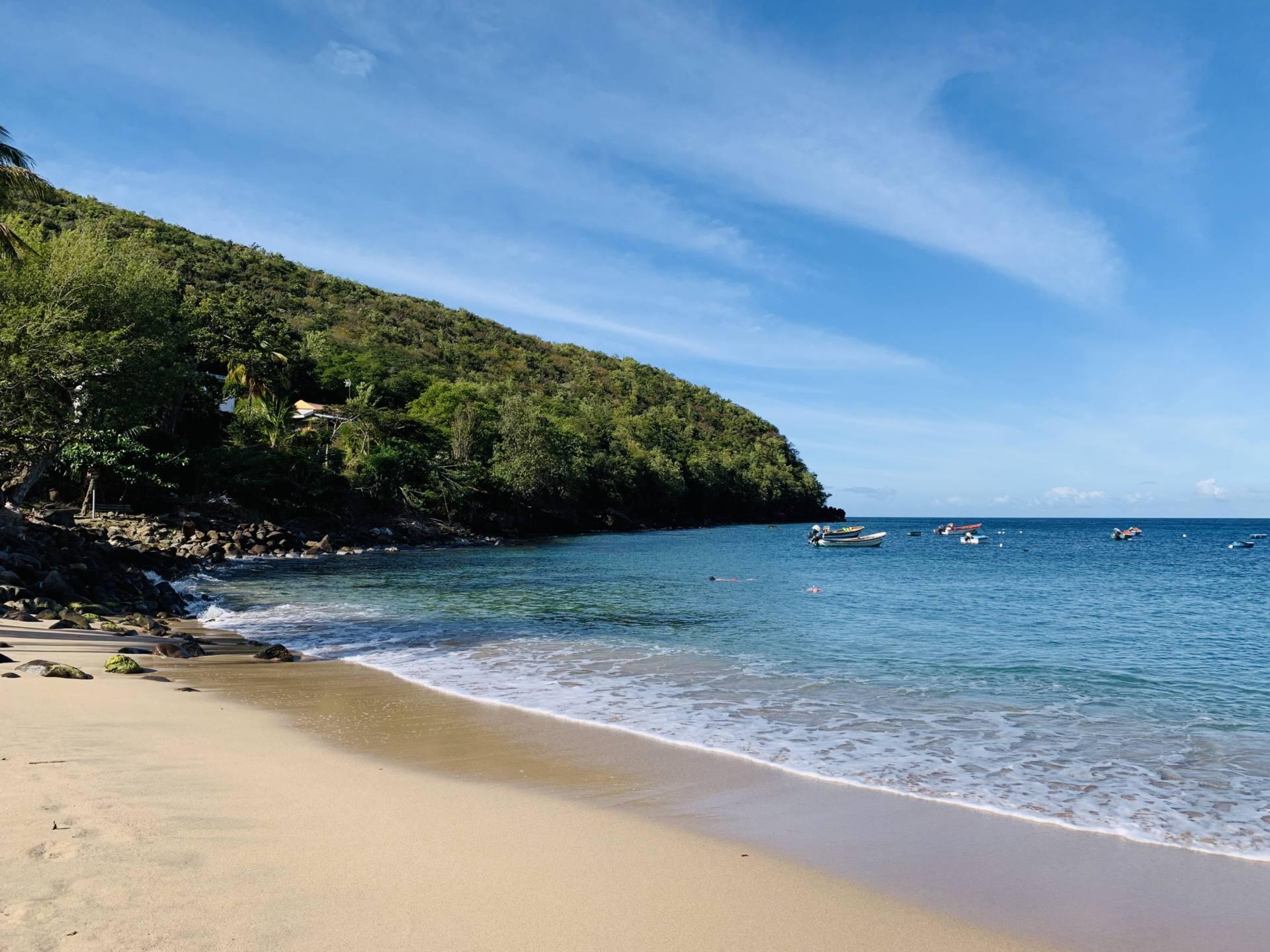 Martinique anse Dufour