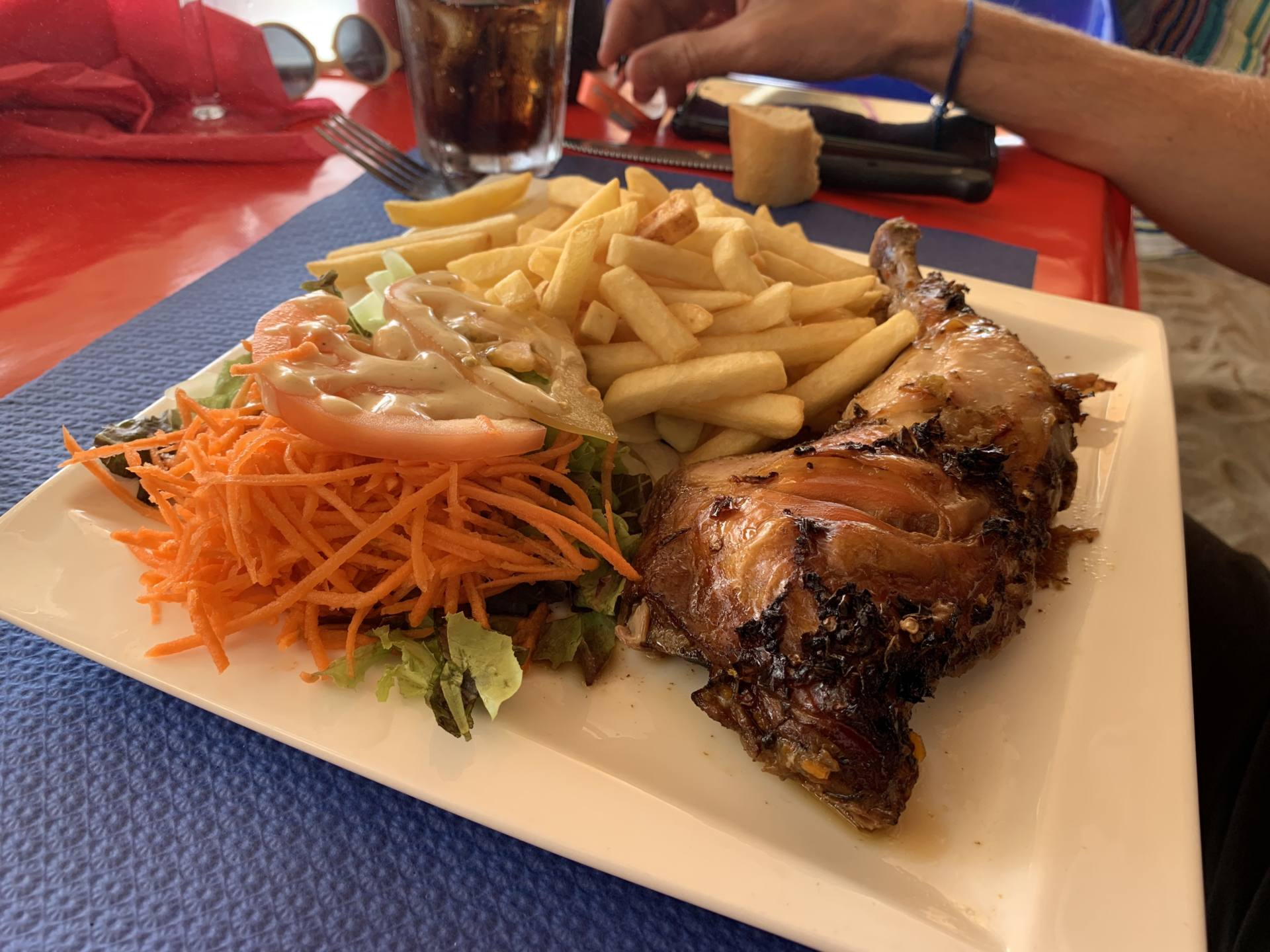 restaurant chiche sainte Luce Martinique