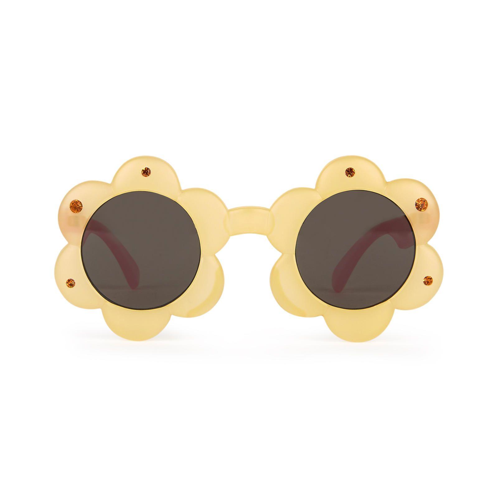 lunettes-jaunes-fleurs