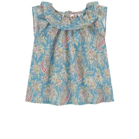 blouse-bleu-bonpoint-melijoe