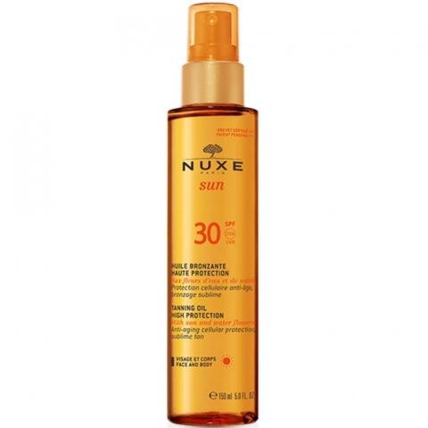 nuxe_sun_huile_bronzante_visage_et_corps_haute_protection_spf30_150ml