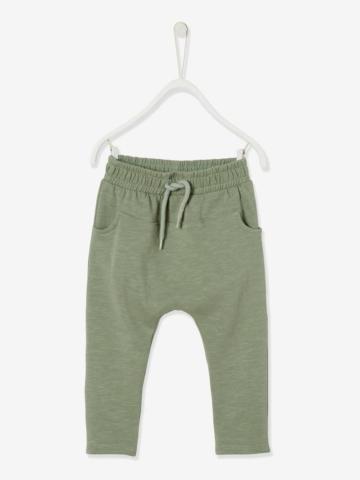pantalon-molleton-bebe-garcon-uni
