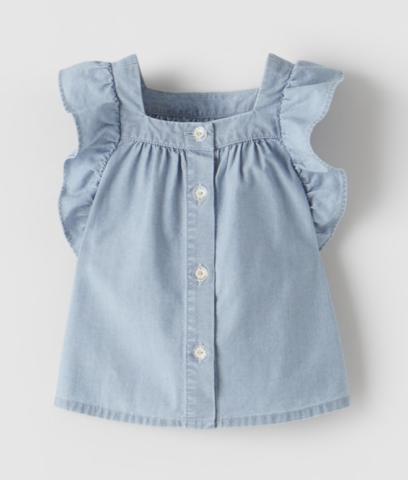 blouse-jean-fille-zara