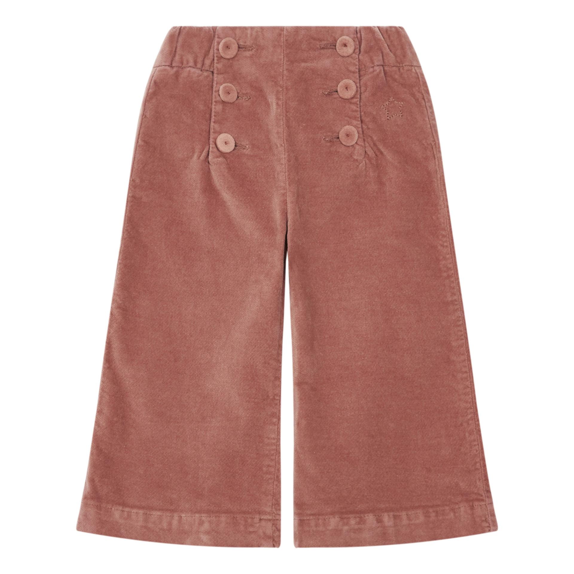pantalon-flare-velours-tocoto-vintage