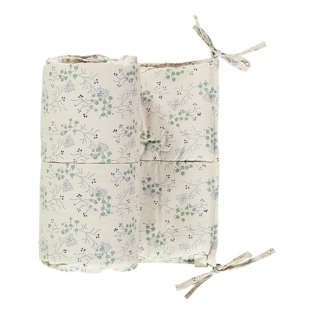 tour-de-lit-minako-floral-en-coton-190×35-cm