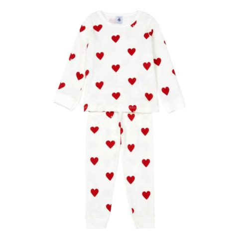 pyjama-mison-coton-bio-coeurs-petit-bateau