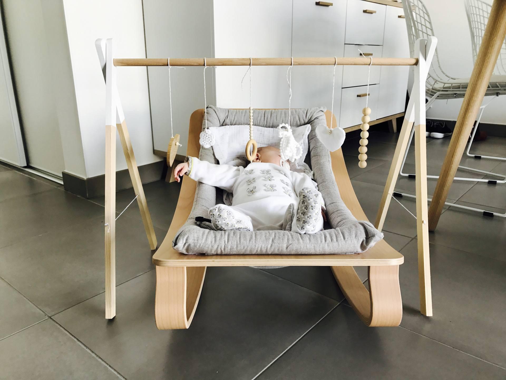Couture Tapis De Sol Bébé un portique d'eveil scandinave a 30€ - juste maudinette