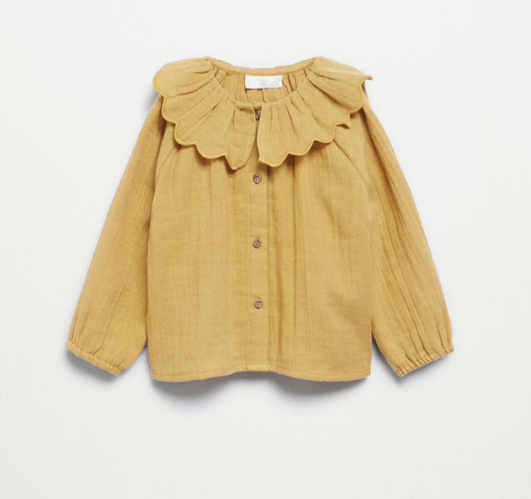 blouse-col-pierrot-mango